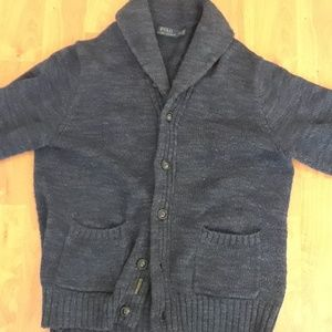 Polo Button Up Cardigan